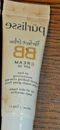 Purlisse Perfect Glow BB Cream MEDIUM TAN .24 oz / 7 ml SPF