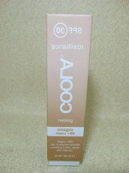 COOLA Rosilliance SPF 30 BB+ Cream Golden , 1.5 Fl Oz
