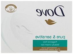 Dove Sensitive Skin Beauty Bar Unscented, 100 G / 3.5 Oz