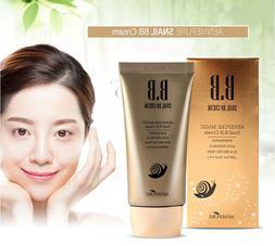 Aenepure/Snail BB cream SPF50+PA +++/Whitening,Anti-Wrinkle,