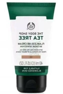 The Body Shop TEA TREE Flawless BB Cream 03 Foundation 1.3 F