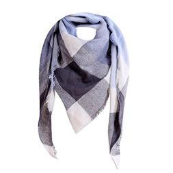 AutumnFall Fashion Women Shawl Cashmere Plaid Scarves Scarf