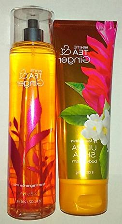 Bath & Body Works White Tea & Ginger Ultra Shea Body Cream &
