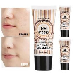 Whitening Primer Makeup Brighten Base BB Cream Concealer Con