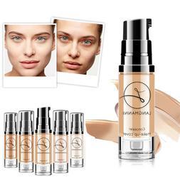 Women's Matte Oil Control Concealer Liquid Foundation Face C