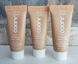X3 COOLA Golden Organic BB+ Cream SPF 30 Golden .17 oz 5 mL